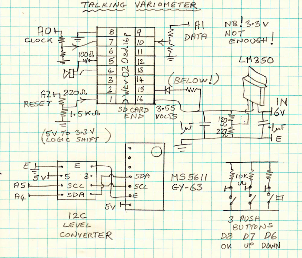 Variometer wiring schematic wiring diagrams schematics arduino speaking vario 1965 ford alternator wiring diagram 66 mustang wiring diagram i believe the 12c level converter is not needed there is one on the asfbconference2016 Image collections